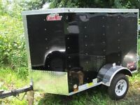 2014 Cargo Mate 4x6 Cargo Enclosed Trailer, NEARLY NEW