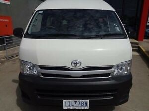 2013 Toyota Hiace KDH223R MY12 Upgrade Commuter French Vanilla 4 Speed Automatic Bus Melton Melton Area Preview