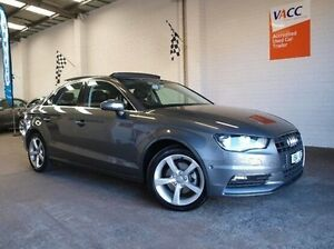 2014 Audi A3 8V MY14 Ambition S tronic Grey 6 Speed Sports Automatic Dual Clutch Sedan Highett Bayside Area Preview