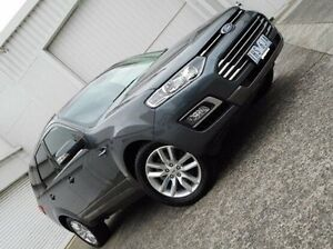 2015 Ford Territory SZ MkII TS Seq Sport Shift Grey 6 Speed Sports Automatic Wagon Bundoora Banyule Area Preview