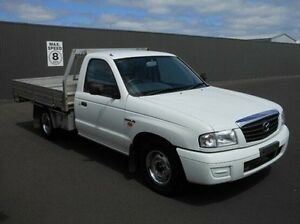 2004 Mazda Bravo B2600 DX White 5 Speed Manual Cab Chassis Mount Gambier Grant Area Preview