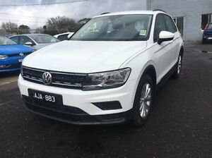 2016 Volkswagen Tiguan 5N MY17 110TSI DSG 2WD Trendline White 6 Speed Sports Automatic Dual Clutch Frankston Frankston Area Preview
