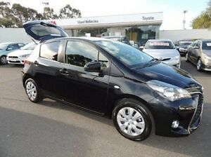 2015 Toyota Yaris NCP131R SX Black 4 Speed Automatic Hatchback Oakleigh Monash Area Preview