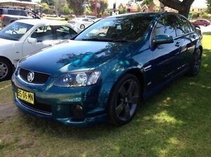 2012 Holden Commodore VE II MY12.5 SV6 Z Series Green 6 Speed Sports Automatic Sedan Wodonga Wodonga Area Preview
