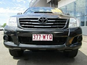 2012 Toyota Hilux KUN26R MY12 SR Xtra Cab Black 5 Speed Manual Utility Earlville Cairns City Preview