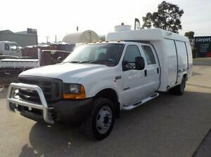 2001 Ford F250  White Automatic Utility Pakenham Cardinia Area Preview