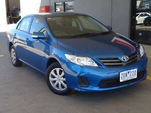 2013 Toyota Corolla ZRE152R MY11 Ascent Sport Tidal Blue 4 Speed Automatic Sedan Melton Melton Area Preview