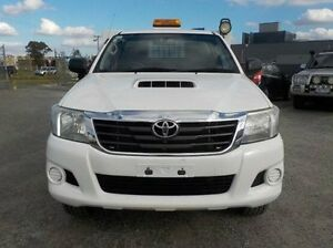 2012 Toyota Hilux White Automatic Cab Chassis Pakenham Cardinia Area Preview