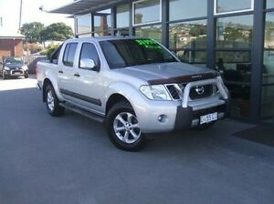 2011 Nissan Navara D40 MY11 ST-X 550 Silver 7 Speed Sports Automatic Utility Invermay Launceston Area Preview