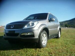 2014 Ssangyong Rexton Y285 II MY14 SX Grey 5 Speed Sports Automatic Wagon Townsville Townsville City Preview