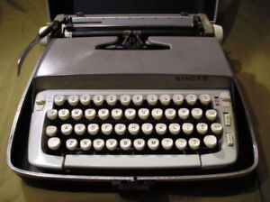 Royal, Singer and Smith-Corona Portable Manual Typewriters