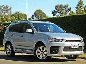 2010 Mitsubishi Outlander ZH MY10 RX Silver 6 Speed Constant Variable Wagon Thorngate Prospect Area Preview