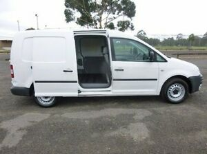 2008 Volkswagen Caddy White Manual Van Coburg North Moreland Area Preview