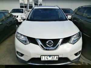 2015 Nissan X-Trail T32 Ti X-tronic 4WD White 7 Speed Constant Variable Wagon Blackburn Whitehorse Area Preview