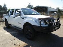 2011 Nissan Navara D40 Series 4 ST-X (4x4) White 6 Speed Manual Dual Cab Pick-up Silverwater Auburn Area Preview