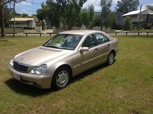 2003 Mercedes-Benz C180 W203 Kompressor Classic Gold 5 Speed Auto Tipshift Sedan Salisbury Brisbane South West Preview