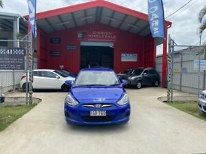2013 Hyundai Accent RB2 Active Blue 6 Speed Manual Sedan Clontarf Redcliffe Area Preview