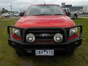 2012 Ford Ranger Red Manual Utility Pakenham Cardinia Area Preview