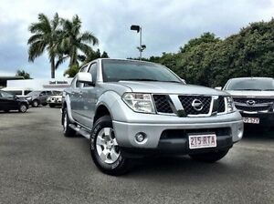 2011 Nissan Navara D40 MY11 ST Silver 5 Speed Automatic Utility West Mackay Mackay City Preview
