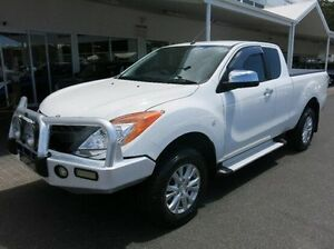 2013 Mazda BT-50 UP0YF1 XTR Freestyle White 6 Speed Manual Utility Coffs Harbour Coffs Harbour City Preview