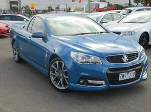 2013 Holden Ute VF MY14 SS V Ute Blue 6 Speed Sports Automatic Utility Coolaroo Hume Area Preview