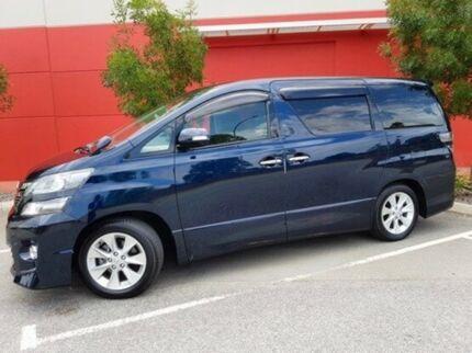 2013 Toyota Vellfire Blue Automatic Wagon