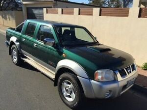 2008 Nissan Navara D22 MY2008 ST-R Green 5 Speed Manual Utility Hove Holdfast Bay Preview