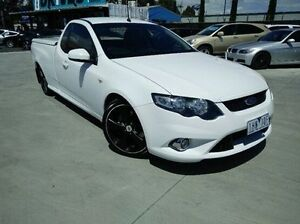 2009 Ford Falcon FG XR6 Ute Super Cab Turbo White 6 Speed Sports Automatic Utility Dandenong Greater Dandenong Preview