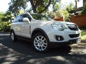 2013 Holden Captiva CG Series II MY12 5 AWD White 6 Speed Sports Automatic Wagon Prospect Prospect Area Preview
