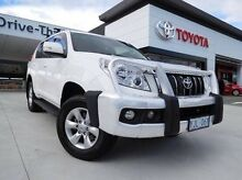 2013 Toyota Landcruiser Prado KDJ150R 11 Upgrade GXL (4x4) White 5 Speed Sequential Auto Wagon Greenway Tuggeranong Preview