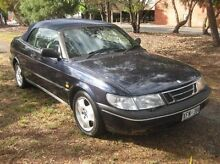 1996 Saab 900 S Blue 5 Speed Manual Cabriolet Woodville Park Charles Sturt Area Preview