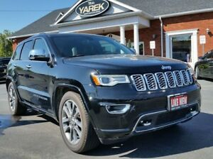 2017 Jeep Grand Cherokee Overland 4x4, NAV, Tow Pkg, Leather Hea