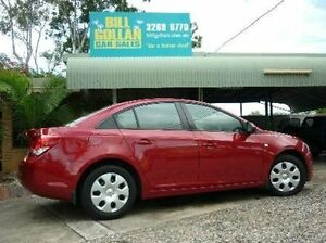 2012 Holden Cruze JH Series II MY13 CD Red 6 Speed Sports Automatic Sedan Deagon Brisbane North East Preview
