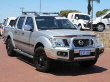 2011 Nissan Navara D40 MY11 ST-X 550 Silver 7 Speed Sports Automatic Utility Spearwood Cockburn Area Preview