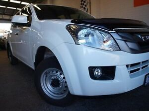 2013 Isuzu D-MAX MY12 SX Crew Cab White 5 Speed Manual Utility Highett Bayside Area Preview