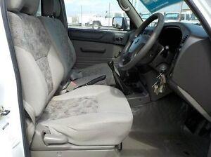 2006 Nissan Patrol GU ST (4x4) White 5 Speed Manual Cab Chassis Pakenham Cardinia Area Preview