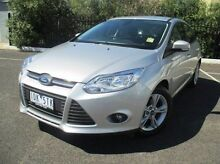 2014 Ford Focus LW MKII Trend PwrShift Silver 6 Speed Sports Automatic Dual Clutch Hatchback Coburg North Moreland Area Preview
