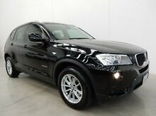 2011 BMW X3 F25 MY1011 xDrive20d Steptronic Black 8 Speed Automatic Wagon Braeside Kingston Area Preview