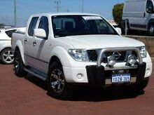 2013 Nissan Navara D40 S7 MY12 RX 4x2 White 5 Speed Automatic Utility Spearwood Cockburn Area Preview