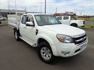 2011 Ford Ranger PK XLT Super Cab White 5 Speed Automatic Utility Morwell Latrobe Valley Preview