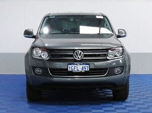 2014 Volkswagen Amarok 2H MY14 TDI400 Highline (4x4) Natural Grey 6 Speed Manual Dual Cab Utility Morley Bayswater Area Preview