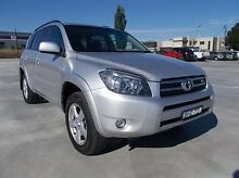 2007 Toyota RAV4 GSA33R MY08 SX6 Silver 5 Speed Automatic Wagon Mitchell Bathurst City Preview