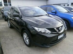 2016 Nissan Qashqai J11 TS Black 1 Speed Constant Variable Wagon Blackburn Whitehorse Area Preview