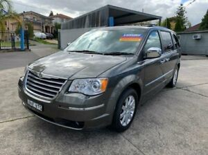 2009 Chrysler Grand Voyager RT 5th Gen MY10 Limited Grey 6 Speed Automatic Wagon Lansvale Liverpool Area Preview