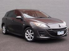 2009 Mazda 3 BL10F1 Maxx Sport Grey 6 Speed Manual Hatchback Southbank Melbourne City Preview