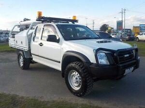 2011 Isuzu D-MAX White Manual Cab Chassis Pakenham Cardinia Area Preview