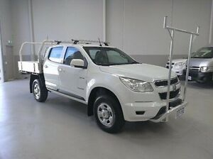 2012 Holden Colorado RG MY13 LX Crew Cab White 6 Speed Sports Automatic Cab Chassis Kenwick Gosnells Area Preview