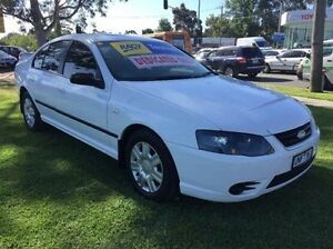 2006 Ford Falcon BF Mk II XT White 4 Speed Sports Automatic Sedan Ferntree Gully Knox Area Preview