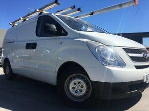 2008 Hyundai iLOAD TQ-V White 5 Speed Manual Van Invermay Launceston Area Preview