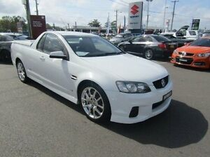 2010 Holden Ute VE II SS V Redline White 6 Speed Sports Automatic Utility Cardiff Lake Macquarie Area Preview